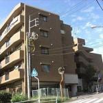 ダイアパレス戸坂新町 外観。5階建ての3階部分です。