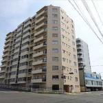 舟入川口コータース 外観。11階建ての6階部分です。
