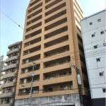 ブランシェーナ住吉 外観。14階建ての5階部分です。(外観)