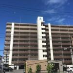 アルファステイツ西原 外観。10階建ての8階部分です。
