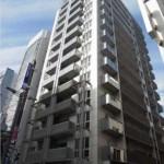 クラース広島 THE MARK 外観。14階建ての12階部分です。