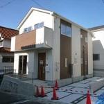 南区西本浦町新築 外観。平成30年10月済です。