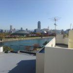 シーアイマンション広島 住戸からの眺望です