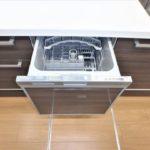 パークハイム牛田中 食器洗浄乾燥機付きなので後片付けも簡単ですね☆