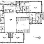 東区牛田東3丁目新築 建物面積99.67㎡。3LDK+畳コーナー+WICの間取りです。