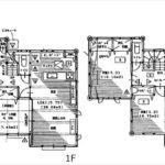東区温品6丁目新築 建物面積104.38㎡。4LDKの間取りです。