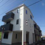 中区吉島新町1丁目 外観。令和元年10月末完成済です。