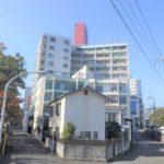 シーアイマンション広島 外観。11階建ての5階部分です。