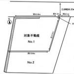 東区牛田新町1丁目土地 敷地面積143.48㎡(43.40坪)の土地です。