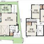 南区向洋大原町新築 建物面積92.19㎡。4LDK+WICの間取りです。