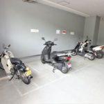 ハウスバーンフリート海田 バイク置場