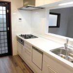 安佐北区落合2丁目中古 新設:食洗器付きシステムキッチン