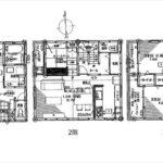 南区宇品東7丁目新築 建物面積113.84㎡。4LDKの間取りです。