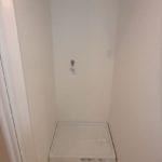 ダイアパレス二葉 新設:洗濯機防水パン