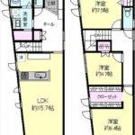 東区山根町新築 建物面積97.09(間取)