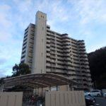スカイハイツ相田 外観。14階建ての9階部分です。(外観)