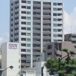 クラース八丁堀ザ・マーク  外観。19階建ての17階部分です。(外観)