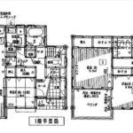 呉市焼山松ヶ丘1丁目新築 建物面積111.78㎡。4LDK+WICの間取りです。