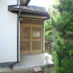 南区丹那町中古 和の趣を感じる玄関