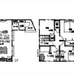 東区牛田中2丁目新築 建物面積103.50㎡。4LDKの間取りです。