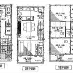 南区宇品神田5丁目新築 建物面積104.33㎡。4LDKの間取りです。