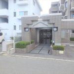 パークハイム牛田中 エントランス入口