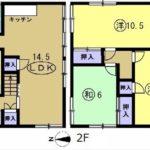 東区福田8丁目中古 建物面積113.80㎡。4LDKの間取りです。
