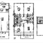 建物面積88.61㎡。3LDK+納戸+小屋裏収納の間取りです。