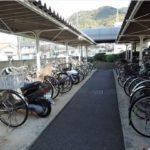 戸坂第2CO-OPマンション 駐輪場