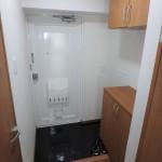 チサンマンション広島 玄関。下足入も完備。