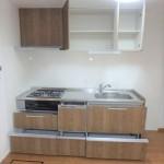 チサンマンション広島 収納もたっぷりのキッチン
