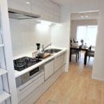 コープ野村牛田東 キッチンは独立型で家事に専念しやすい環境です♪