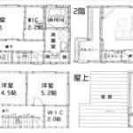中区光南2丁目新築 建物面積113.43㎡。4LDKの間取です。