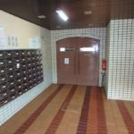 戸坂第2CO-OPマンション 集会室入口
