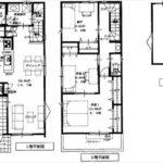 南区宇品西2丁目新築 建物面積101.70㎡。2LDK+納戸+ロフトの間取りです。