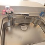 長寿園マンション 浄水器一体型水栓