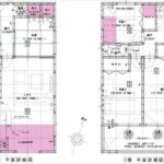 東区上温品3丁目新築 建物面積105.30㎡。4LDKの間取りです。(間取)