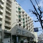 チサンマンション広島 外観。11階建ての5階部分です♪