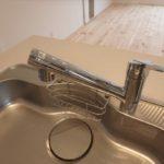 中区光南2丁目新築 調理にも安心の浄水器一体型水栓を使用