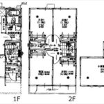 東区矢賀3丁目新築 建物面積88.60㎡。4LDK+小屋裏収納の間取りです。