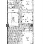 もみじマンション柳ヶ丘 専有面積79.38㎡。4LDKの間取りです。