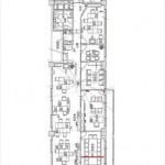 ロイヤルシャトー緑井神宮山参番館 専有面積213.66㎡(64.63坪)の売事務所です。