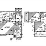 東区温品6丁目新築 建物面積100.61㎡。4LDKの間取りです。