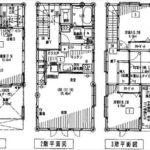 中区江波東2丁目新築 建物面積89.98㎡。4LDKの間取りです。