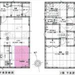 東区上温品3丁目新築 建物面積100.44㎡。4LDKの間取りです。(間取)