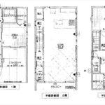 東区矢賀新町1丁目新築 建物面積126.23㎡。3LDK+納戸+2WICの間取りです。