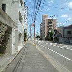 ダイアパレス舟入幸町 前面道路