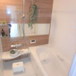 東区山根町新築 ナチュラルデザインのバスルーム
