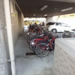 三篠公園パークホームズ 自転車置き場