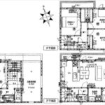 中区吉島新町1丁目新築 建物面積101.83㎡。3LDK+納戸の間取りです。(間取)